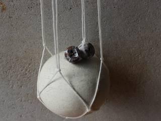地器シリーズ: 陶刻家 由上恒美                                          Ceramic Sculptor  tsunemi yukami  が手掛けた現代のです。,モダン