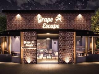 Grape Escape Restaurant Gadi III + Architects Bars & clubs