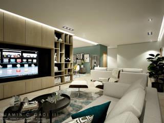 L-House Gadi III + Architects Living room