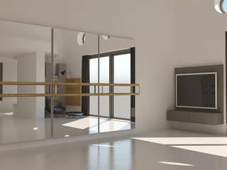 Kalya İç Mimarlık \ Kalya Interıor Desıgn Modern gym Wood Grey