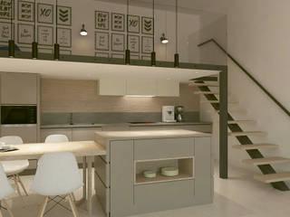 Kalya İç Mimarlık \ Kalya Interıor Desıgn Modern kitchen لکڑی Wood effect