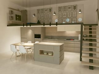 Kalya İç Mimarlık \ Kalya Interıor Desıgn Built-in kitchens لکڑی Wood effect