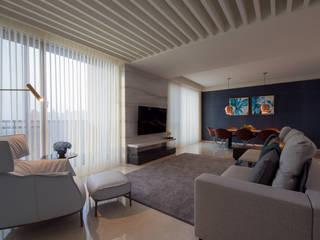 Modern living room by 雅群空間設計 Modern