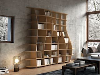 form.bar Living roomStorage Engineered Wood White