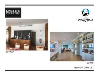 0003.18 -HOTEL ORCA PRAIA - REMODELAÇÃO RESTAURANTE por LINETYPE PROJECTS, LDA