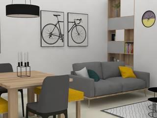 modern  by Decó ambientes a la medida, Modern
