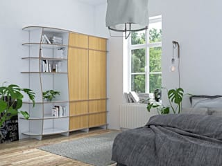 form.bar BedroomWardrobes & closets Engineered Wood White