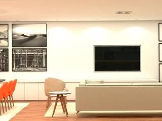 Modern living room by Viviane Cunha Arquitectura Modern