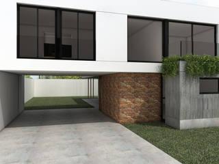 Casas de estilo minimalista de JIEarq Minimalista