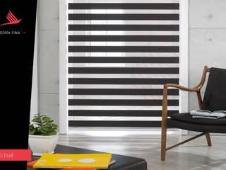 Persianas Jaramillo B CDMX Windows & doors Blinds & shutters Textile Brown