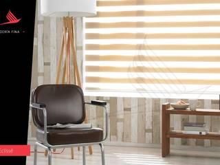 Persianas Jaramillo B CDMX Windows & doors Blinds & shutters Textile Beige