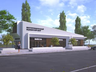 Проект многофункционального медицинского центра по улице Архиерейская в Белгороде Больницы в эклектичном стиле от ЕвроПроект Эклектичный