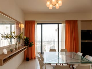 HR Residence MZH Design Modern dining room