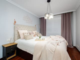 Alejandra Otero - Interiorismo y Home Staging 臥室床與床頭櫃