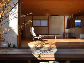 荒屋町の家 アジア風 庭 の 稲荷明彦建築研究室 和風