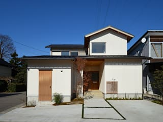 荒屋町の家 の 稲荷明彦建築研究室 和風