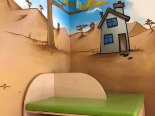 Hospitales de estilo moderno de Wandgestaltung Graffiti Airbrush von Appolloart Moderno