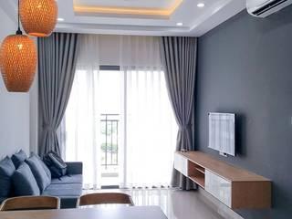 Nội thất chung cư Acilb design Living roomAccessories & decoration Gỗ-nhựa composite Wood effect