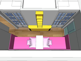 SERPİCİ's Mimarlık ve İç Mimarlık Architecture and INTERIOR DESIGN Cameretta neonato PVC Variopinto