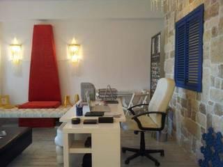 SERPİCİ's Mimarlık ve İç Mimarlık Architecture and INTERIOR DESIGN Interior landscaping Tekstil Red