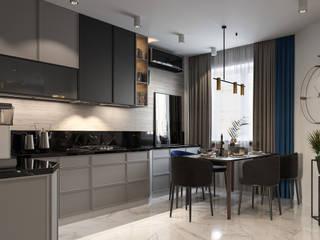 The Berloga Кухня в колониальном стиле от SO-Bytie Колониальный