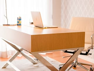TRAÇO 8 INTERIORES Study/officeDesks Wood Brown