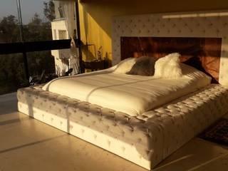 Base y Cabecera Capitonada de ACY Diseños & Muebles Moderno