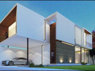 Casa VT Casas modernas de Geometrica Arquitectura Moderno