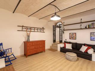 Appartamento di 120mq ristrutturato a Firenze, zona Le Cure Soggiorno moderno di Facile Ristrutturare Moderno