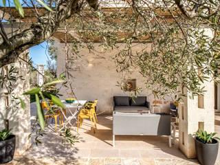 Balcon, Veranda & Terrasse méditerranéens par Studio Guerra Sas Méditerranéen