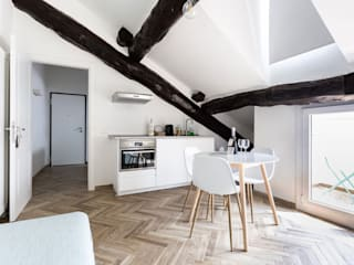 オリジナルデザインの キッチン の studio ferlazzo natoli オリジナル