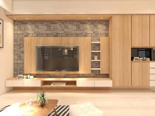 北歐現代精緻小宅 根據 艾舍室內設計 北歐風