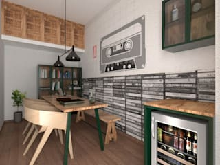 Apartment Remodelling - Bangalore Modern study/office by Ideation Design Modern