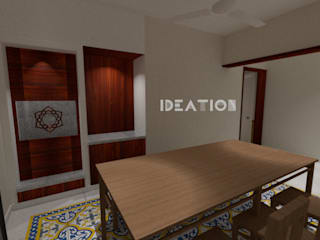Apartment Remodelling - Bangalore Minimalist dining room by Ideation Design Minimalist