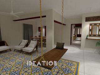 Apartment Remodelling - Bangalore Minimalist living room by Ideation Design Minimalist