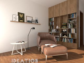 Villa Remodelling - Bangalore Minimalist study/office by Ideation Design Minimalist Wood Wood effect