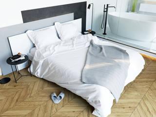 WHITE SPACE Спальня в стиле минимализм от Студия ARTZONE Минимализм