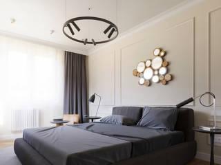 SOFTNESS Спальня в эклектичном стиле от Студия ARTZONE Эклектичный