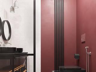 SOFTNESS Ванная комната в эклектичном стиле от Студия ARTZONE Эклектичный
