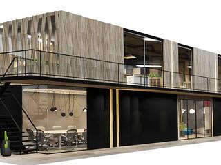 Modern offices & stores by Rapzzodia Interiorismo Modern