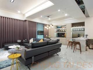楊律師新建住宅案 根據 澄太空間設計 現代風