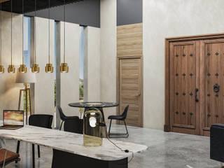 Oficina L12 Estudios y despachos modernos de Rapzzodia Interiorismo Moderno