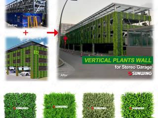 Artificial Plants Application SUNWING GREEN Walls & flooringWall & floor coverings Plastic Green