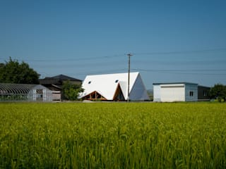 Casas de estilo escandinavo de Takeru Shoji Architects.Co.,Ltd Escandinavo