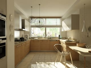 Studio WabiSabi – beşiktaş ev mutfak : modern tarz , Modern