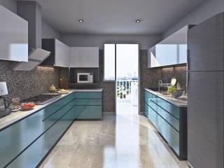 ミニマルデザインの キッチン の RV Dezigns ミニマル