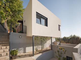 Ampliación vivienda en Collserola ESTUDI NAO arquitectura Escaleras