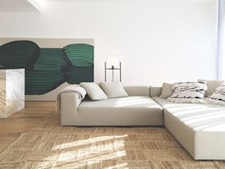 A R C H I T E C T U R E STUDIO H ARCHITECTURE & INTERIOR Moderne Wohnzimmer