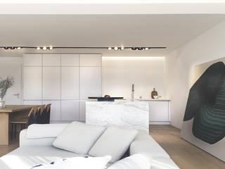 A R C H I T E C T U R E STUDIO H ARCHITECTURE & INTERIOR Moderne Küchen