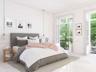 Rustic style bedroom by Mariana Martins - Arquiteta Consultora de Feng Shui Rustic